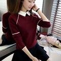 6611 nueva primavera señora collar de la muñeca suéter flojo tamaño set tamaño suéter 50 base de la cabeza