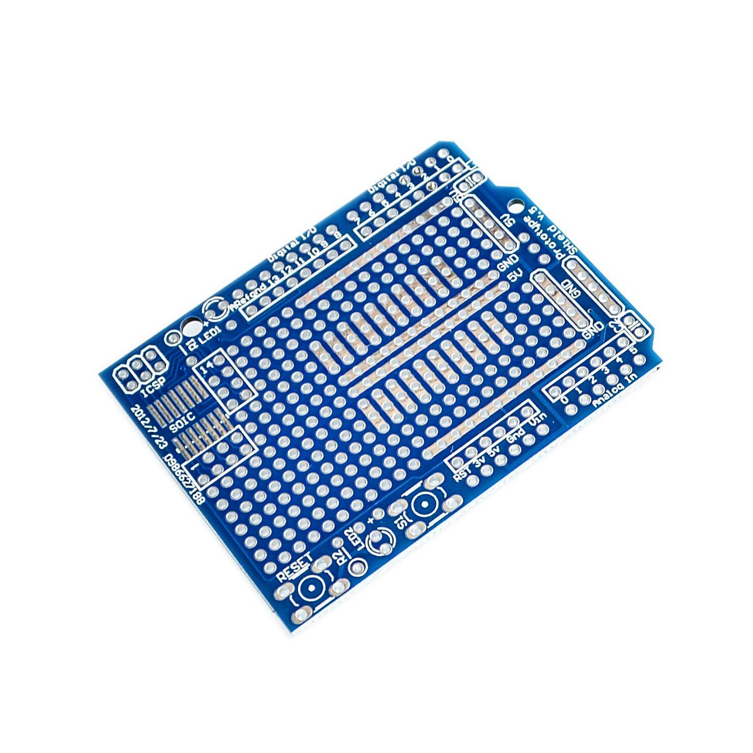 Прототип печатной платы для Arduino UNO R3 щит FR-4 волокна 2 мм 2,54 мм шаг