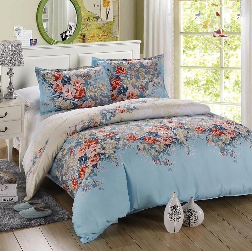 New design bed sets, 4 pieces, bedding bedding set, green ...