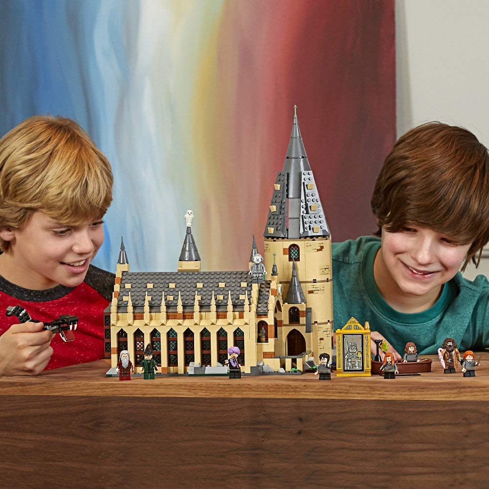 Harry Magic World Potter's Hogwarts Great Hall Building Kit Blocks Toys for Children Compatible with Legoings