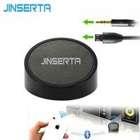 JINSERTA Mạnh Mẽ Bluetooth Adapter 3.5 mét AUX Âm Thanh Receiver Cho RCA Loa Siêu Trầm Stereo Loa Không Dây Hifi Car USB Chơi Điện Thoại