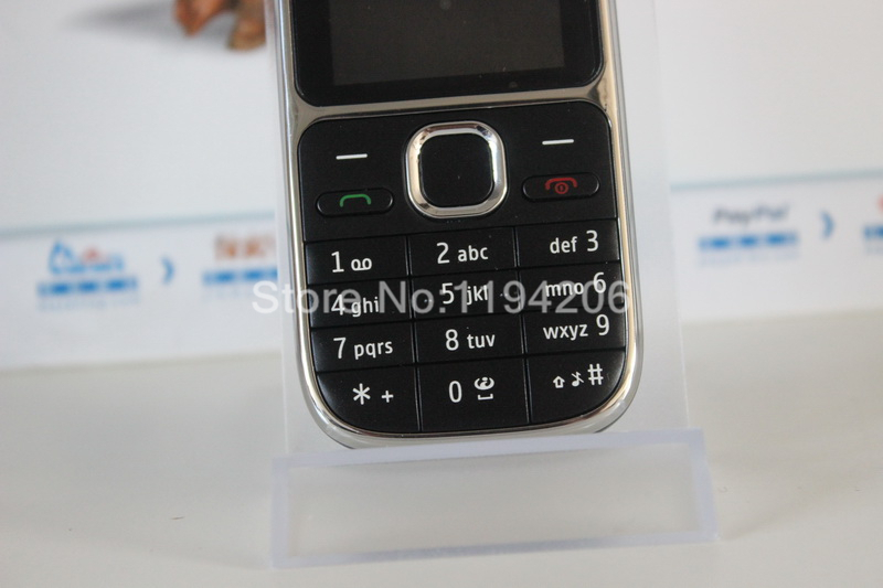 C2-01 разблокированный Nokia C2-01 1020mAh 3.15MP 3g Поддержка русской клавиатуры и аракбической клавиатуры и иврит клавиатуры мобильного телефона