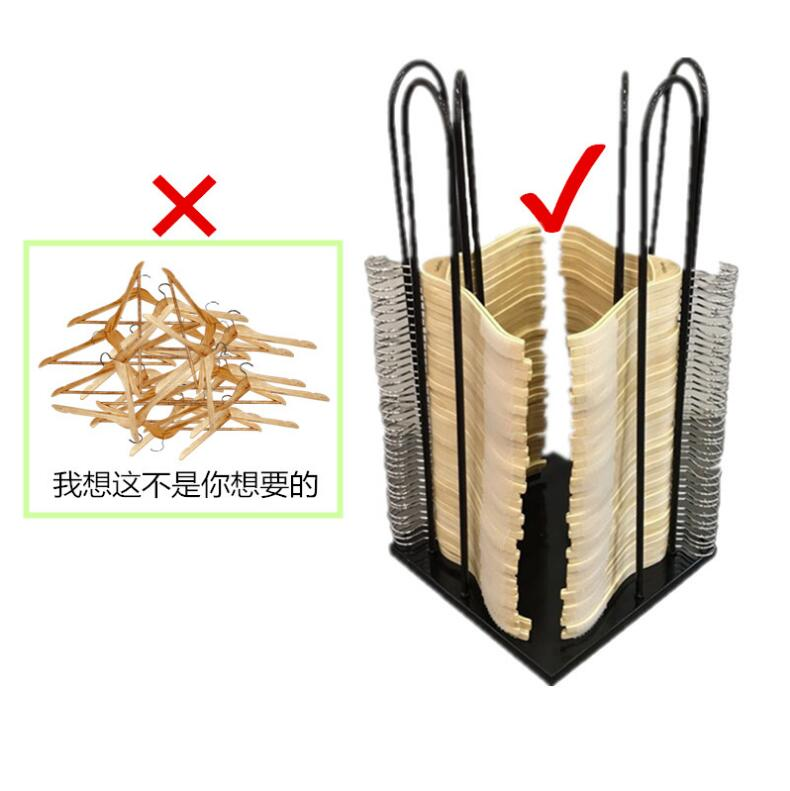 Clothes hanger storage car storage rack of tieyi clothing store