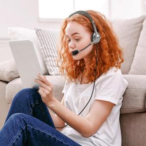 Image 3 - Logitech H110/H111 casque stéréo avec Microphone 3.5mm casque filaire casques découte pour gamer gaming musique appelant