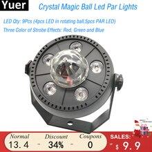 Spotlight-Lamp Lighting Disco Led-Stage-Light Active-Dmx512 Dj Club Auto-Sound New RGBW
