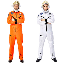 New Astronaut Costume Adult Cosmonaut Cosplay Suit Halloween For Men Carnival Party Dress Up