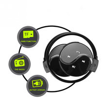 Best Headphones Bluetooth Sports With Micro Support TF Card Slot+FM Radio headphones for a mobile phone xiaomi huawei p 20 pro