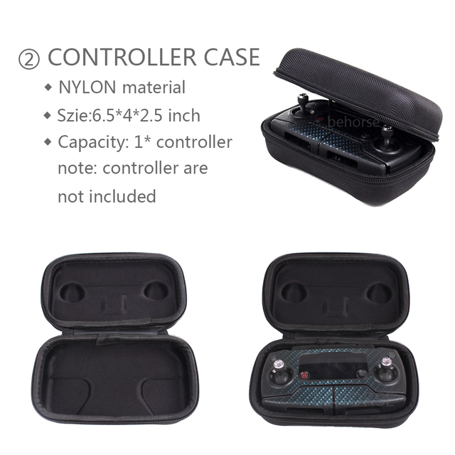Optional DJI Mavic Pro Portable Bag Case for Remote Controller Battery Drone Body Storage Case Bag Accessories