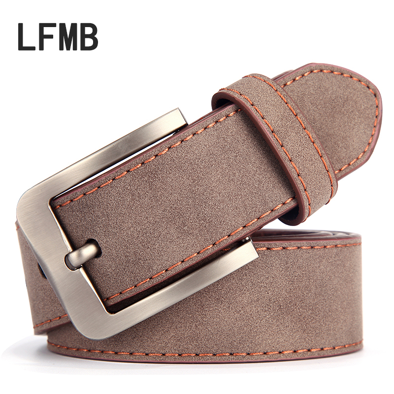 [LFMB] 2019 Mens Belt Designer Belts Men Cow Genuine Leather Male Genuine Leather Strap Ceinture Homme Marque Luxury Designer
