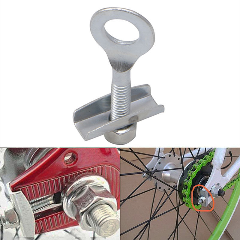 Chain Tensioner Adjuster BMX Fixed Gear Single Speed Bike Track Bicycle LE