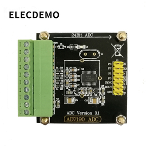 Image 2 - AD7190 Module Digital Weigh Module 24 bit Analog to Analog Converter Pressure Sensor High Precision ADC  Module