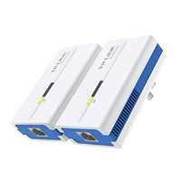 Free Shipping TP LINK PA1200 1200Mbps Powerline Adapter Combo Gigabit Ethernet Ports