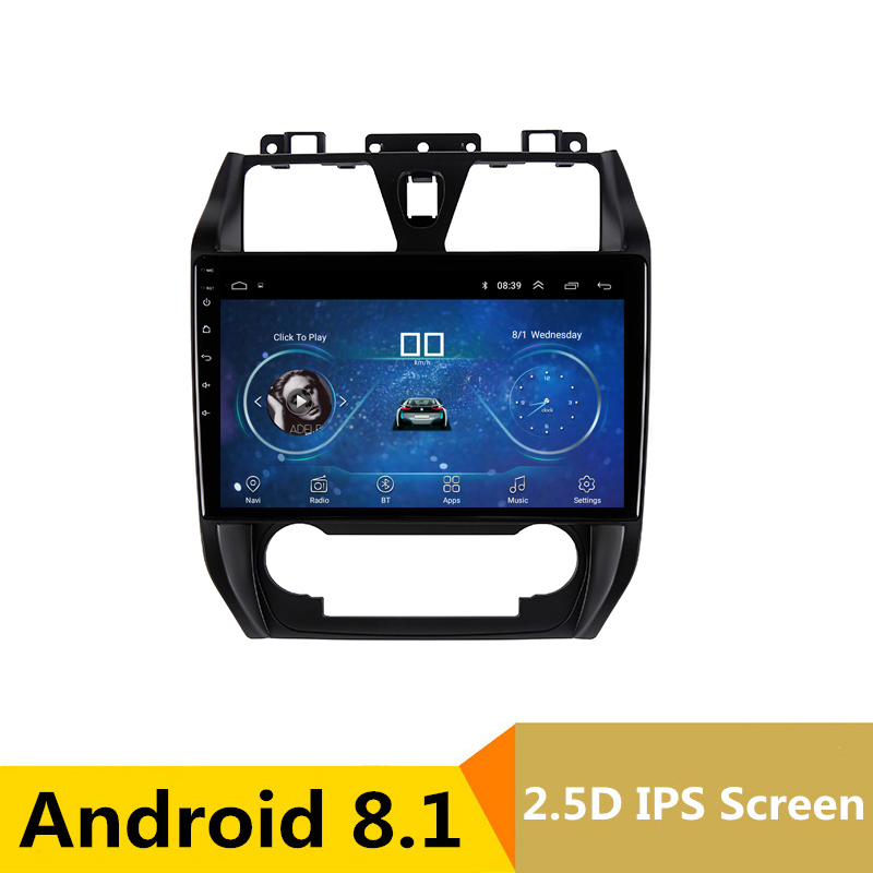 10 2 5D IPS Android 8 1 Car DVD Multimedia Player GPS for GEELY Emgrand EC7