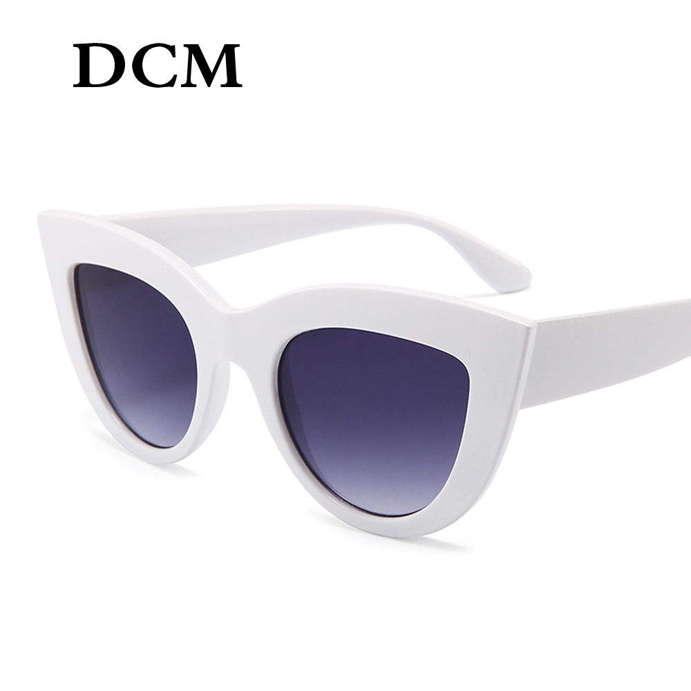 Mirror Frame Glasses Us 2 49 Dcm Vintage Sunglasses Women Cat Eye Sunglass Retro Sun Glasses Female Pink Mirror Eyewear In Women S Sunglasses From Apparel Accessories On