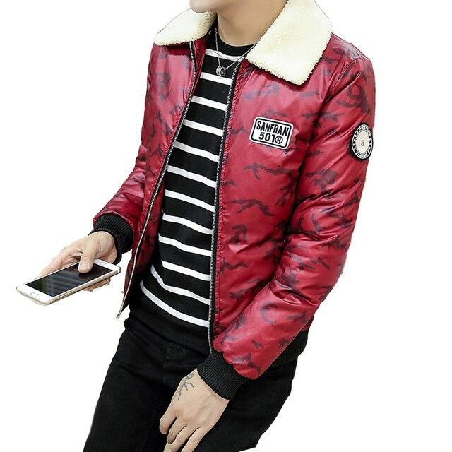 2016 Autumn Winter New Style Camouflage Winter Jackets Mens Parka Men Doudoune Homme Hiver Marque Winter Coat Men