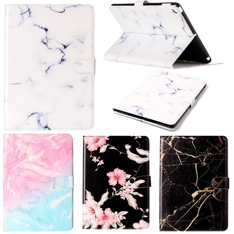 High quality Marble Pattern PU Leather Flip Case For Apple iPad air 2 Case Smart Cover Tablet Stand Ultra Slim Shell Funda top quality hot selling fashion design anchors pattern flip stand leather case cover for ipad mini 2 retina jul 12