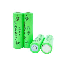 GTF 1.2V 3800mah AA Battery 2A Ni-MH Rechargeable Battery LED Flashlight Portable Devices Tools Lighting Tools battery(China)