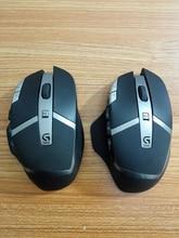 Marca Original nuevo caso del ratón top shell + inferior + Ratón de lado + clave para logitech G602