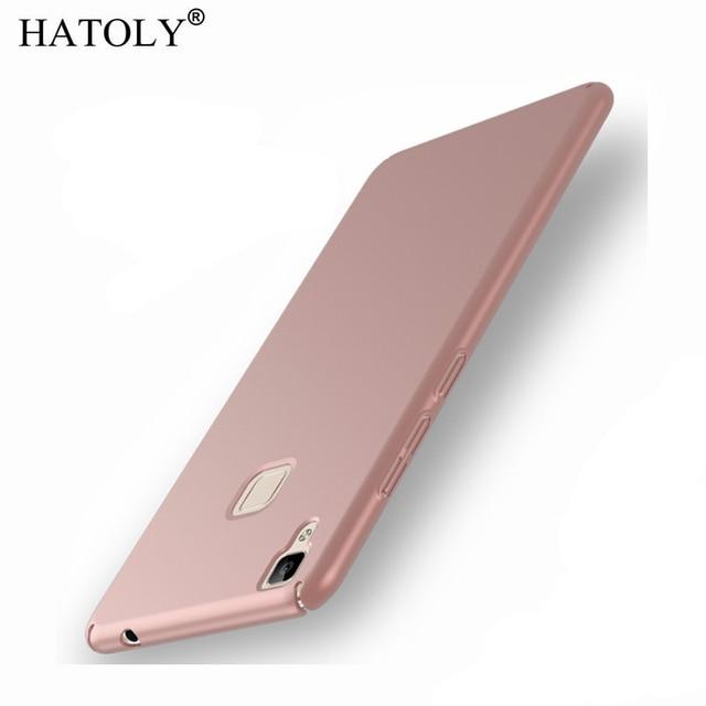 low priced 66aa5 fb58e US $1.69 25% OFF|For BBK Vivo V3 Case Vivo V3 Ultra thin Smooth Cover Hard  PC Protective Back Case For BBK Vivo V3 5.0 inch Free Shipping HATOLY-in ...