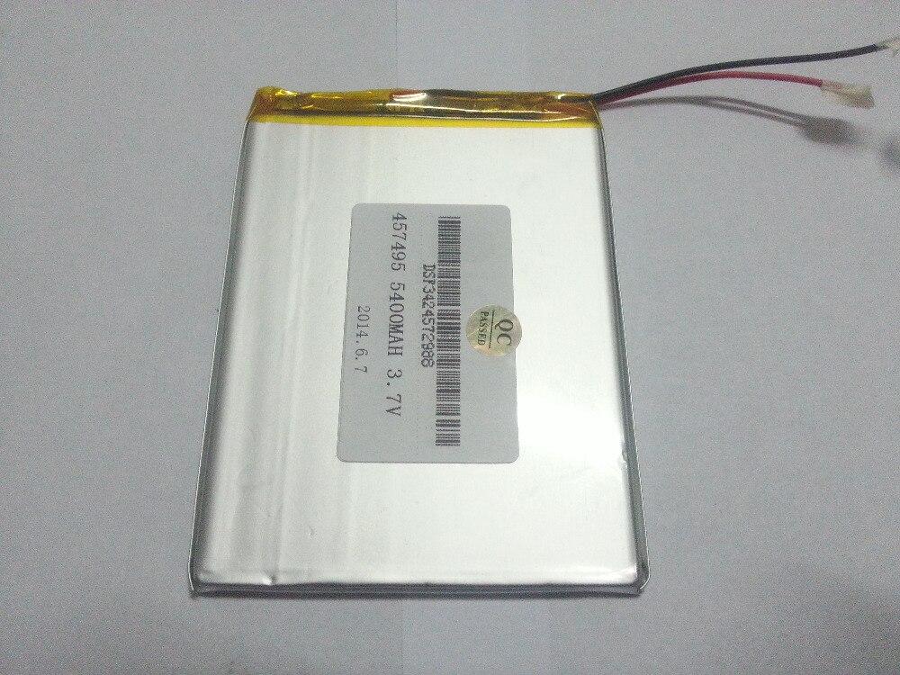 Tablet pc 3.7 V, 5400 mAH (polymère au lithium ion batterie) Li-ion batterie pour tablet pc 7 pouce 8 pouce 9 pouces [457495] livraison Gratuite