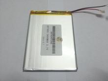 Tablet pc 3.7V,5400mAH (polymer lithium ion battery) Li-ion battery for tablet pc 7 inch 8 inch 9inch [457495] Free Shipping