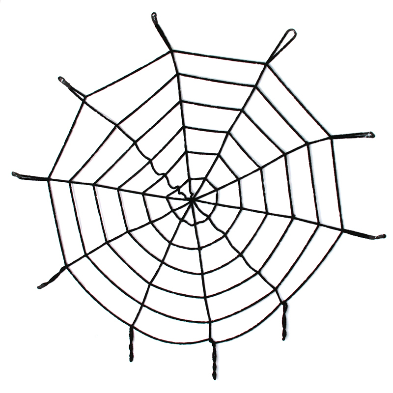 blackwhite creepy new huge spider web halloween decoration cobweb party bar gift wholesale ic872151
