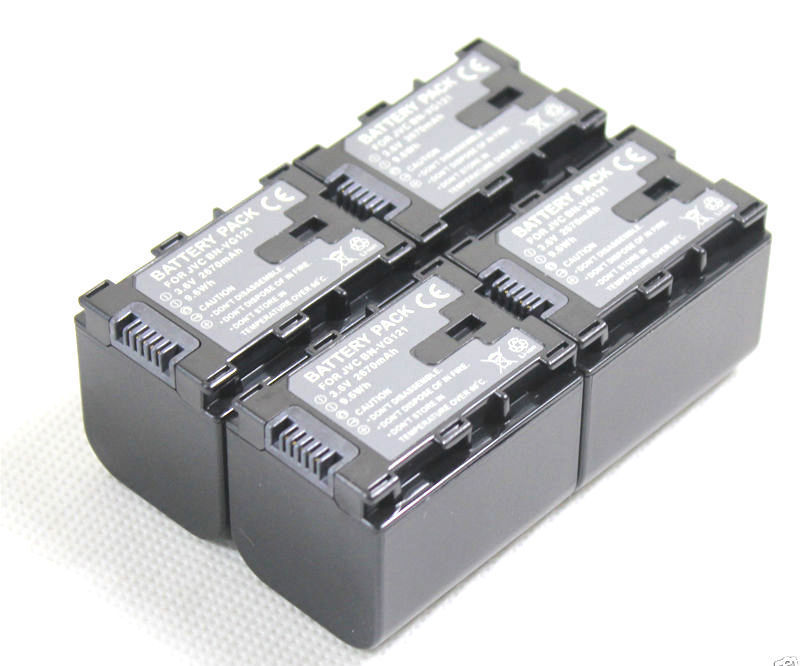 цена на Free Shipping new 4x Battery and Dual Charger for BN-VG121 VG121U GZ-EX210BU G5 G3 GX1 GX8