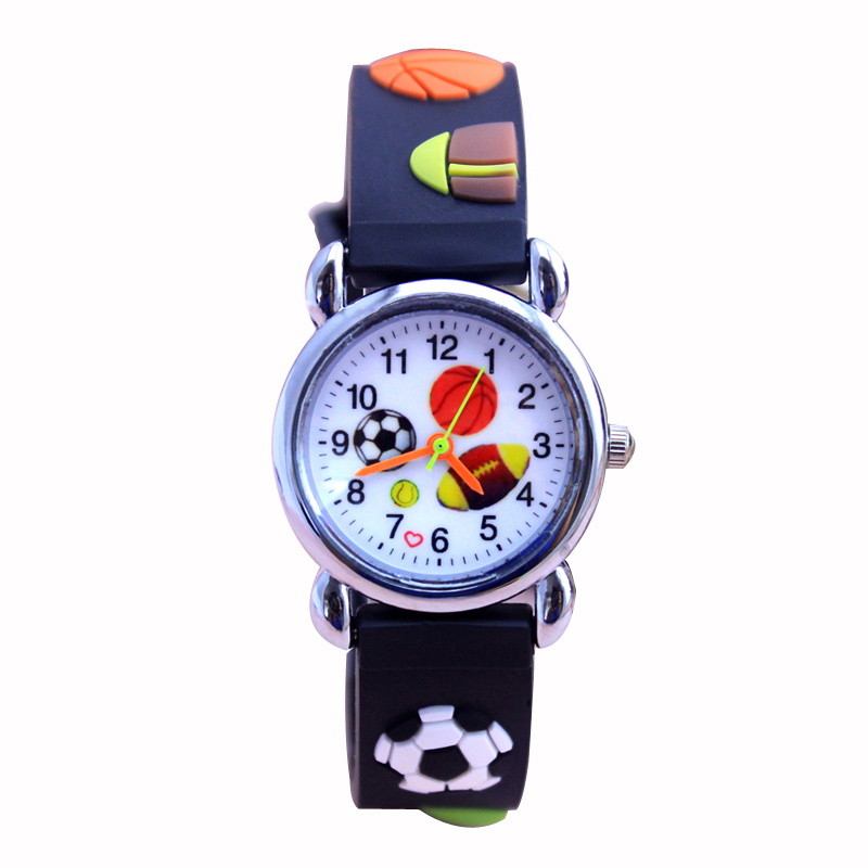 Brand Quartz Wrist Watch Baby For Girls Boys Kid Watches American Baseball Children Fashion Casual Reloj