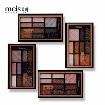 10 Professionnel Couleur Maquillage Couleurs Marque Fard Terre Meis cqj3RL45A