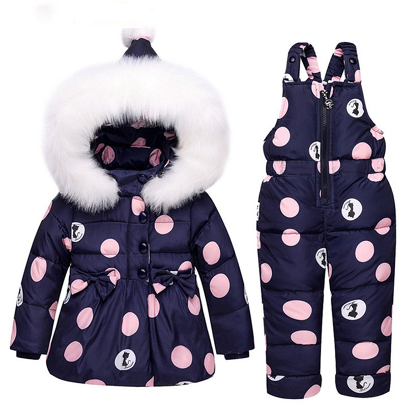 Baby Boys Girls Winter Duck Down Jackets Children Warm Outerwear Coat+Pant Clothing Set Snowsuit Kids Clothes Parka Snow Wear наглядное пособие eastcolight скелет птеранодона