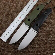 Adg лиса bf710 фиксированной Ножи D2 лезвие G10 Ручка Открытый выживания Отдых на природе Охотничьи ножи тактический Военная Униформа Мультитул Дайвинг EDC инструмент