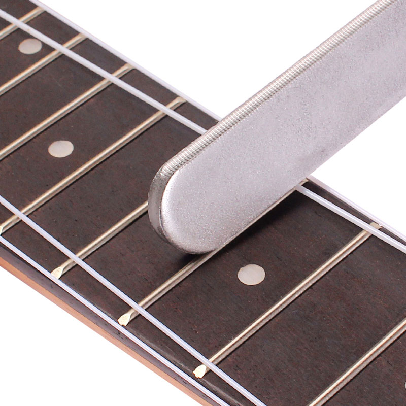 1PC Guitar Parts Guitar Fret Crowning Luthiers Tools File Narrow Dual Cutting Edge Durable