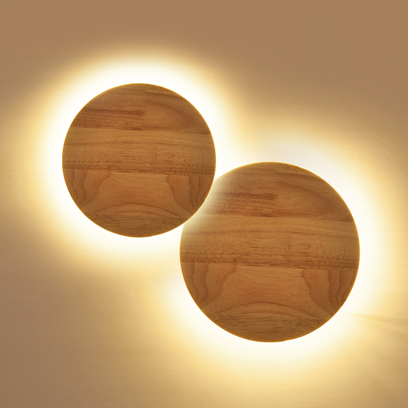 2017 Limited Sale Personality Led Light Bedside Bedroom Wood Wall Lamp Northern Modern Aisle Corridor Decor Lights Freeshipping modern wooden led wall lamp bed room bedside natural solid wood white glass bedroom bedside aisle corridor entrance wall sconce