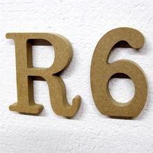 10 см свадебное украшение деревянные буквы рождественские модное