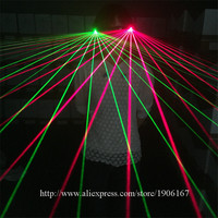 Fashion Red Green Laser Man Glasses Party Christmas Halloween Laserman Glasses For Laser Show