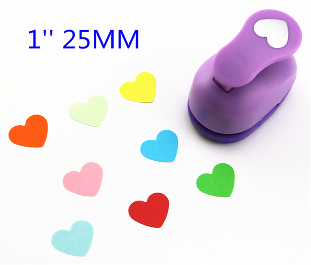 Free Ship 1 Heart Shaped Paper Cutter Scrapbooking Punches Paper