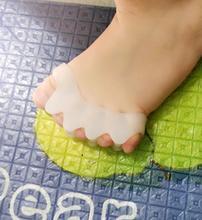 ילד הבוהן מפריד אלונקה סיליקון רגל טיפול הבוהן עצם מחליק מפזר הבוהן בוהן valgus מתקן לילדים