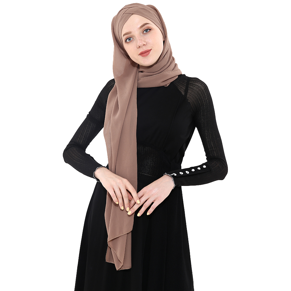 ALI shop ...  ... 33013696602 ... 3 ... 2019 Summer Women's chiffon Ready To Wear Instant Hijab Scarf  Muslim chiffon head scarf Islamic shawls Arab Headscarf ...