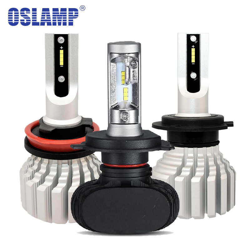 Oslamp H4 H7 Led H11 H13 Headlight Kit 50W Auto Car Bulbs H1 H3 9005 HB3 9006 HB4  Lamps CSP Chips 6500K for Nissan Toyota