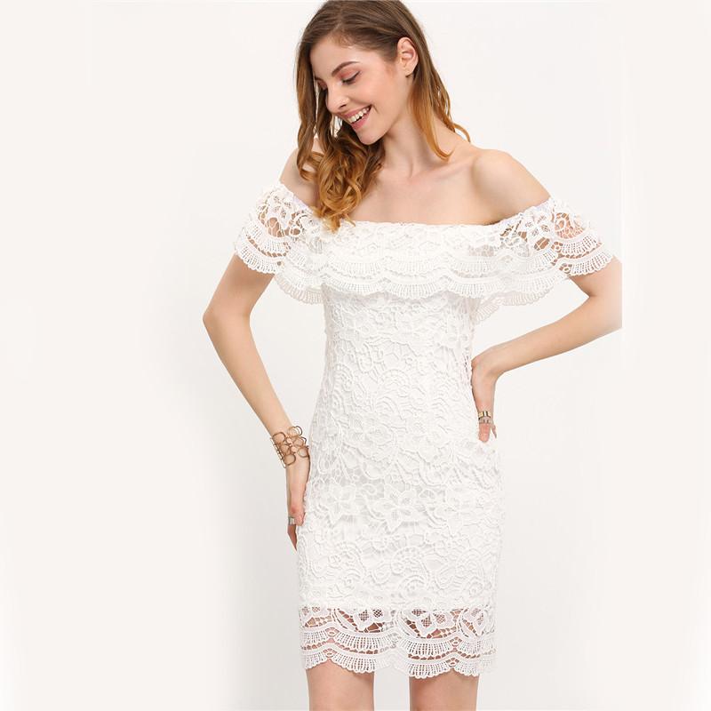 HTB1Plz1KpXXXXbnapXXq6xXFXXXt - Women Mini Dresses White Off the Shoulder Bodycon Dress JKP045