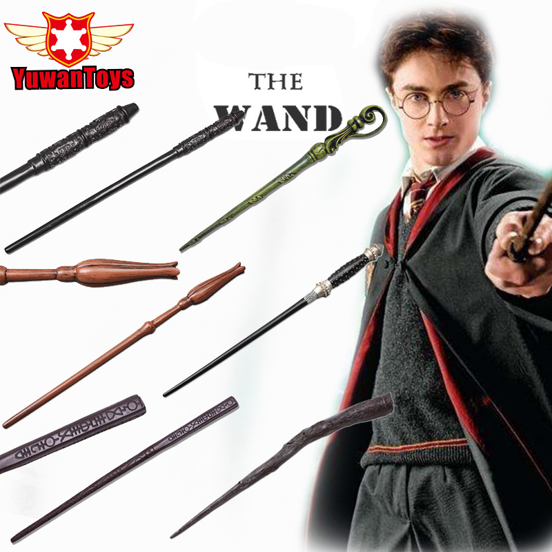 New Hot Sale 1Pcs Harry Potter Deathly Hallows Hogwarts Magical Wand Cosplay Toy High Quality Gift Box Packing Free Shipping