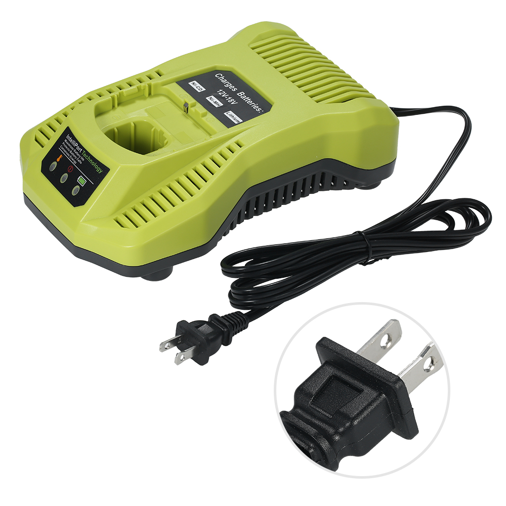 P117 Battery Charger Replacement for 12-18V NI-CD NI-MH Li-ion Battery for Ryobi Electric Screwdriver Power Tools accessories bcl1415 14 4v ni cd ni mh battery for hitachi bcl1415 18v ni cd ni mh battery