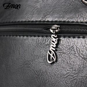 Image 4 - Zmqn bolsa feminina de luxo, bolsa feminina grande de mão modelo carteiro feita em couro, estilo 2020