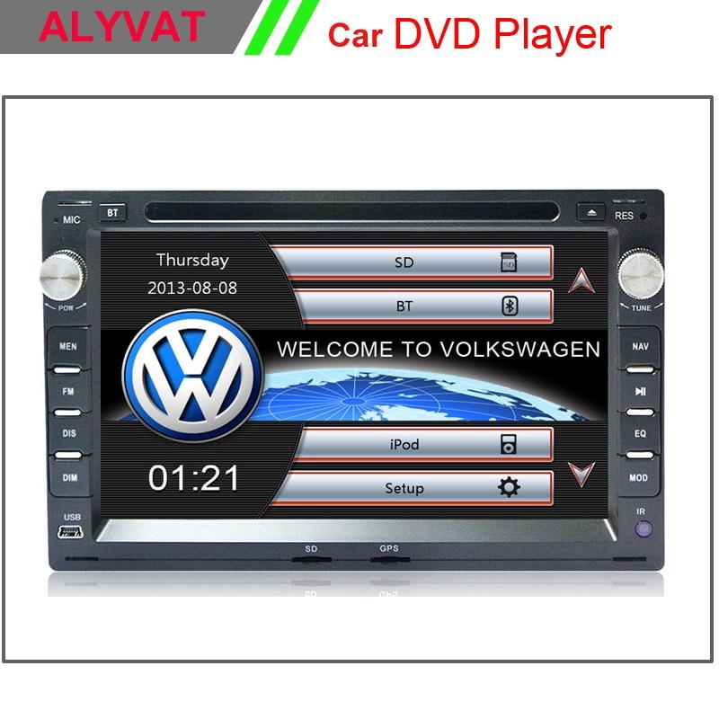 7 inch Car DVD Player GPS Navigation For VW Transporter T5 PASSAT B5 Golf 4 Polo Bora Jetta Sharan 2003 2004 2005 2006 2007 2008
