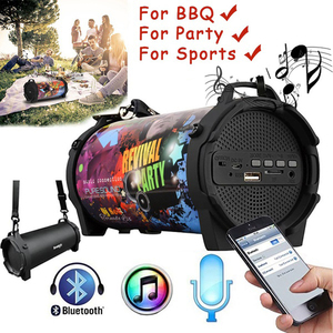 8W New Outdoor Portable Subwoo