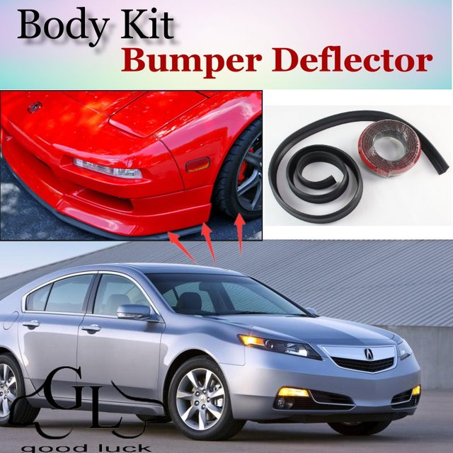 Bumper Lip Lips Front Spoiler For TG Fans Car Tuning TOPGEAR Body - 1999 acura tl front lip