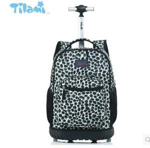 Image 4 - Kids Rolling Luggage Backpacks Kid School Backpacks with wheels kid suitcase children luggage Wheeled backpacks bag for school