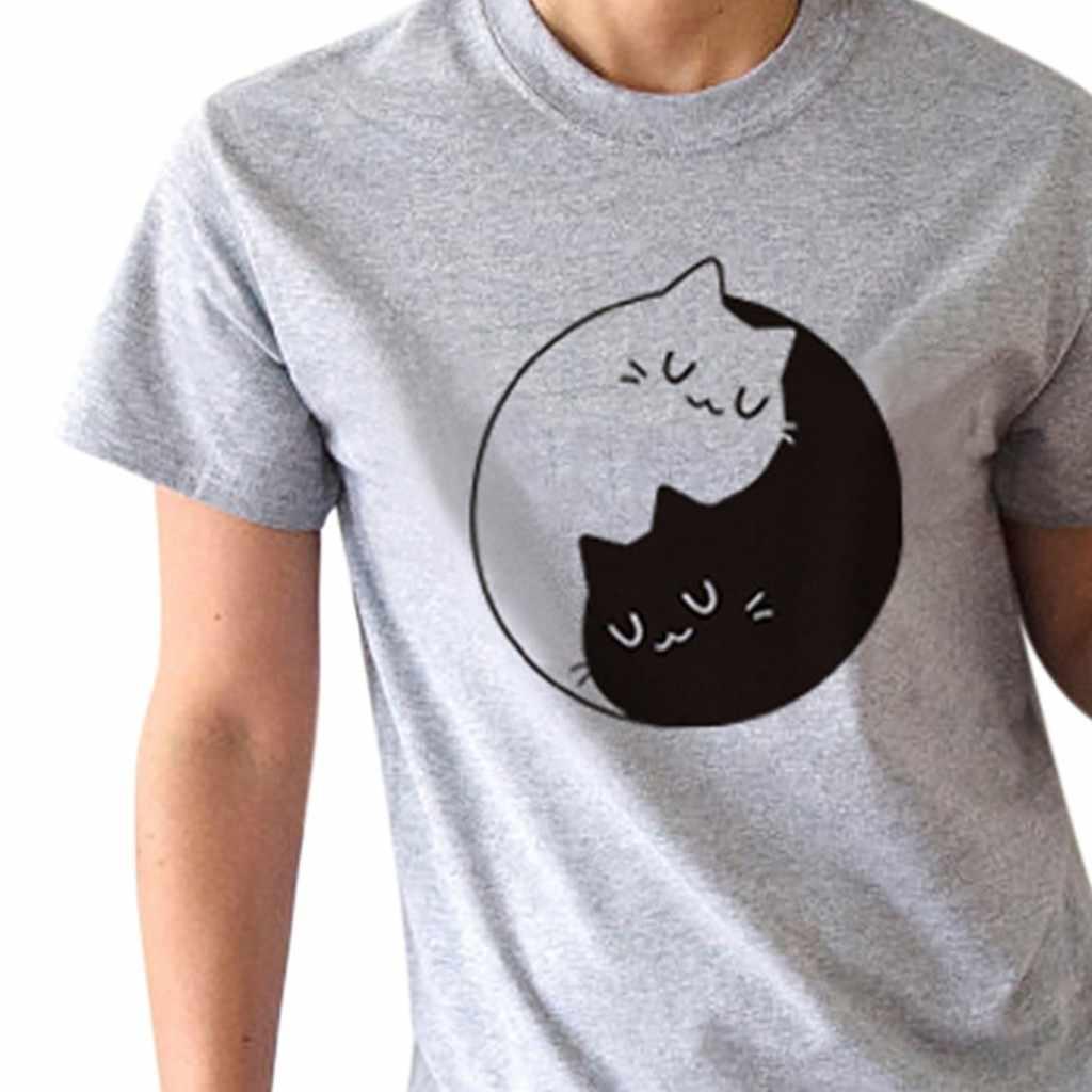 fe43d15d0 ... feitong T Shirt Women Short Sleeves Tee Tops Shirts Summer Pure White  Black Cotton Harajuku tshirt ...