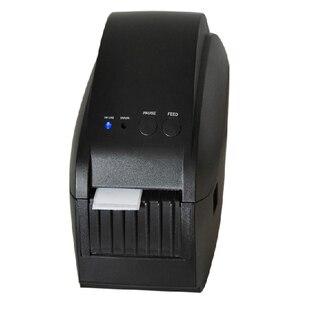 GP-58Т 58 ММ Тепловая Штрих Принтер Этикеток 203 ТОЧЕК/ДЮЙМ стикер принтера, Поддержка USB/Последовательный интерфейс, Поддержка различных язык