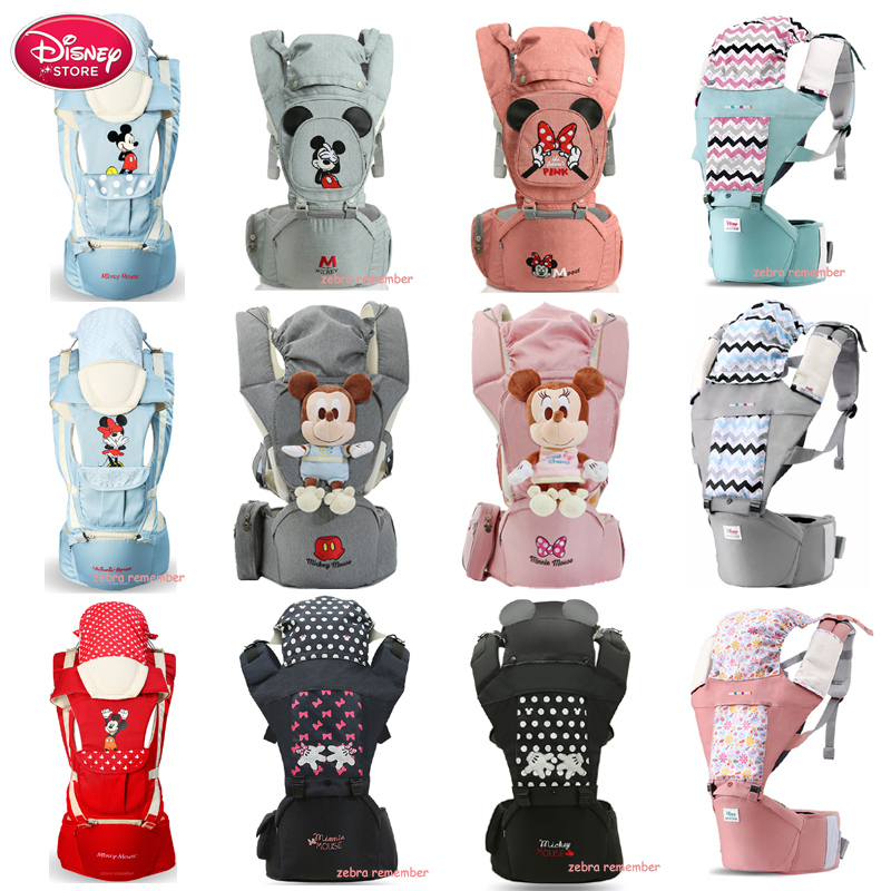 Disney Baby Carrier Sling Newborns Soft Infant Backpacks Wrap Breathable Wrap Birth Comfortable Nursing Cover For Baby Care